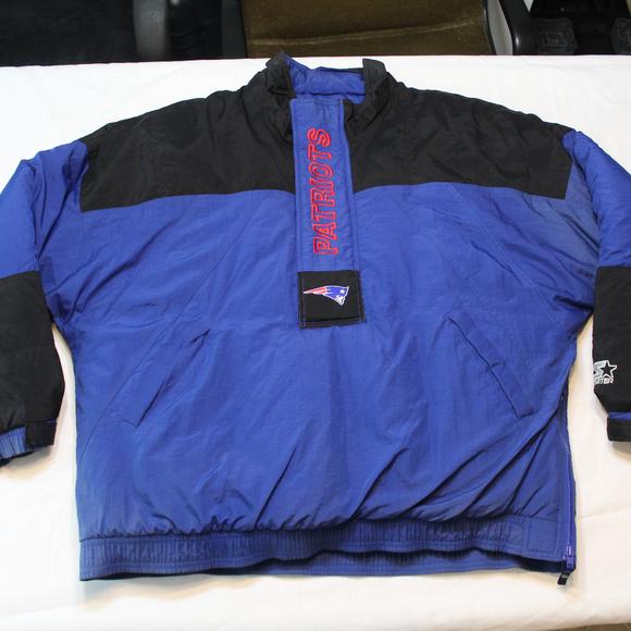 buy online af3b7 2300a Vintage Starter Patriots jacket Pullover 90s